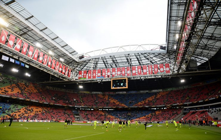 Football - Ajax Amsterdam v Celtic - UEFA Europa League Group Stage - Group A - Amsterdam ArenA, Amsterdam, Netherlands - 17/9/15 General view before the match Mandatory Credit: Action Images / Alan Walter Livepic EDITORIAL USE ONLY. - RTS1LI7