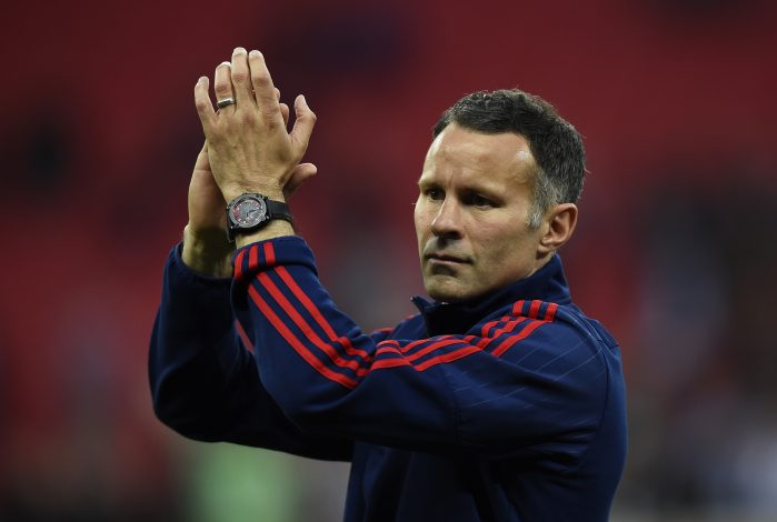"Britain Football Soccer - Crystal Palace v Manchester United - FA Cup Final - Wembley Stadium - 21/5/16 Manchester United assistant manager Ryan Giggs celebrates after winning the FA Cup   Reuters / Dylan Martinez Livepic EDITORIAL USE ONLY. No use with unauthorized audio, video, data, fixture lists, club/league logos or ""live"" services. Online in-match use limited to 45 images, no video emulation. No use in betting, games or single club/league/player publications.  Please contact your account representative for further details. - RTSFBI6"