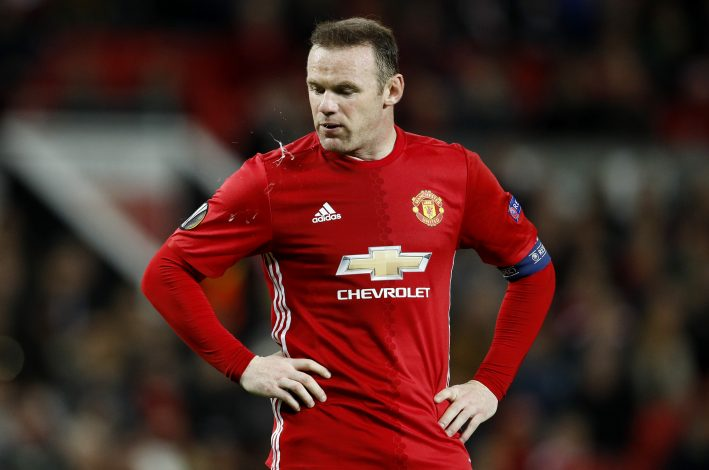Britain Football Soccer - Manchester United v Fenerbahce SK - UEFA Europa League Group Stage - Group A - Old Trafford, Manchester, England - 20/10/16 Manchester United's Wayne Rooney Reuters / Phil Noble Livepic EDITORIAL USE ONLY. - RTX2PS3B