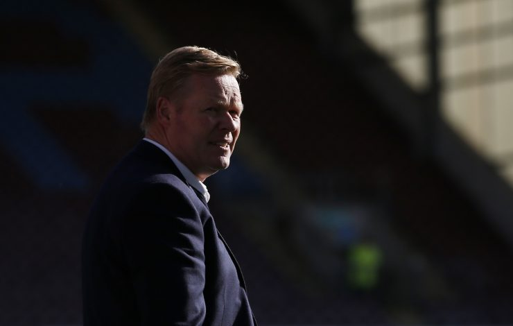 "Britain Soccer Football - Burnley v Everton - Premier League - Turf Moor - 22/10/16 Everton manager Ronald Koeman before the match  Action Images via Reuters / Craig Brough Livepic EDITORIAL USE ONLY. No use with unauthorized audio, video, data, fixture lists, club/league logos or ""live"" services. Online in-match use limited to 45 images, no video emulation. No use in betting, games or single club/league/player publications.  Please contact your account representative for further details.Jason Cairnduff - RTX2PZ0M"