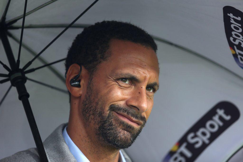 BT Sport's Rio Ferdinand.
