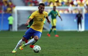 Thiago Maia of Brazil in action.