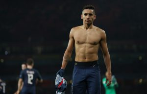 Marquinhos after the game.
