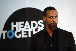 Former Manchester United player Rio Ferdinand speaks at the Institute of Contemporary Arts in central London, Britain January 17, 2017.