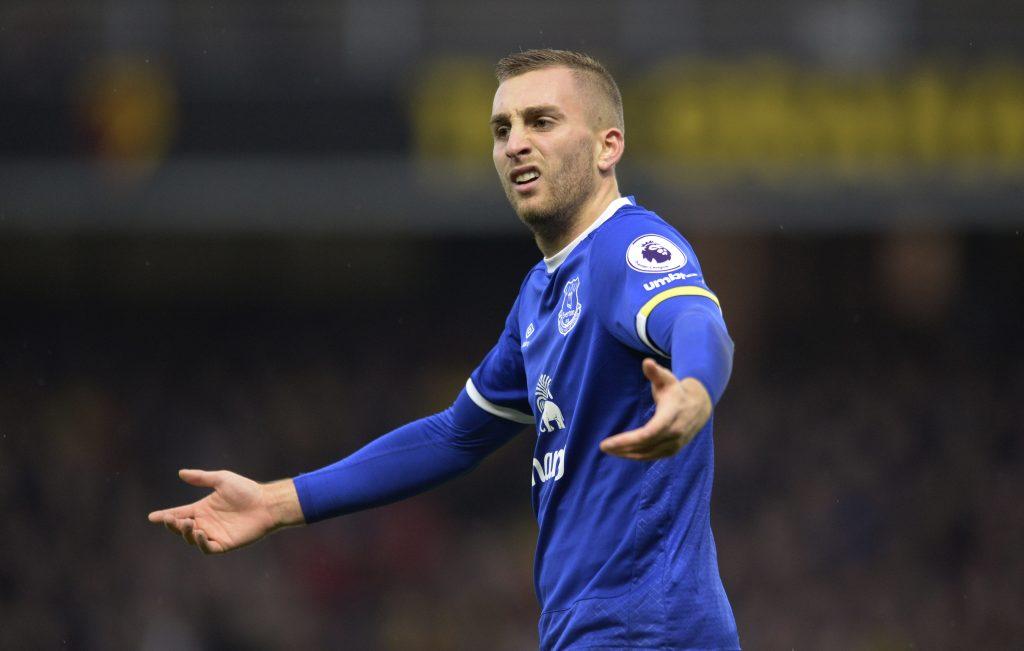 Everton's Gerard Deulofeu.