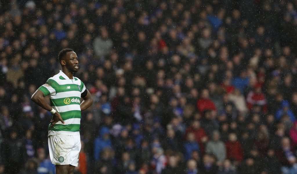Celtic's Moussa Dembele during the match.