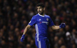 Chelsea's Diego Costa.