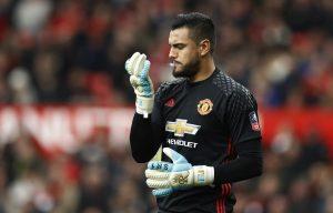 Manchester United's Sergio Romero.