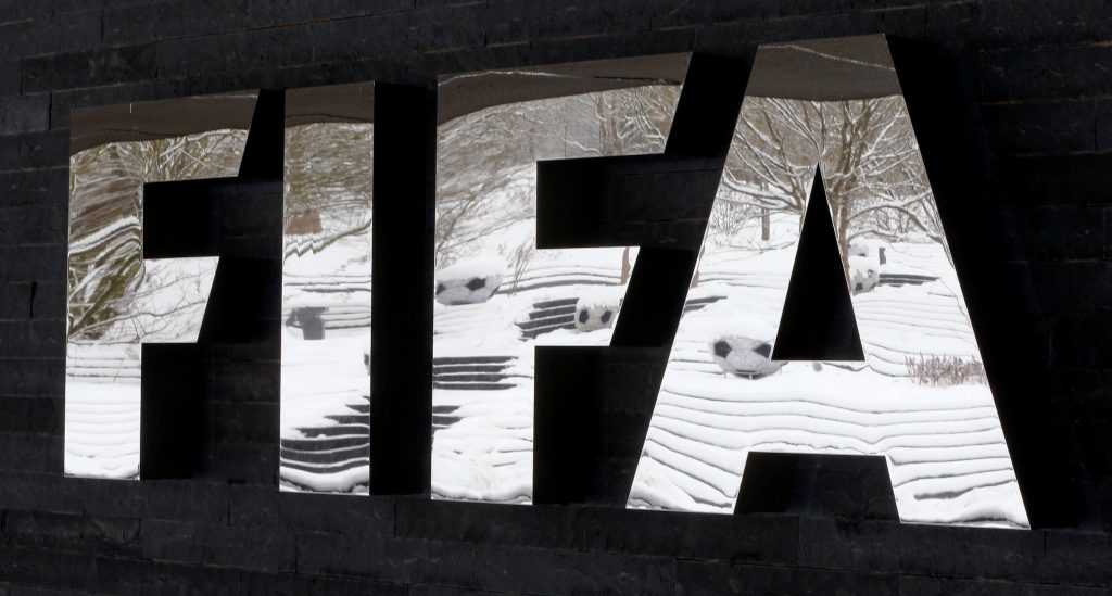 FIFA headquarters in Zurich.