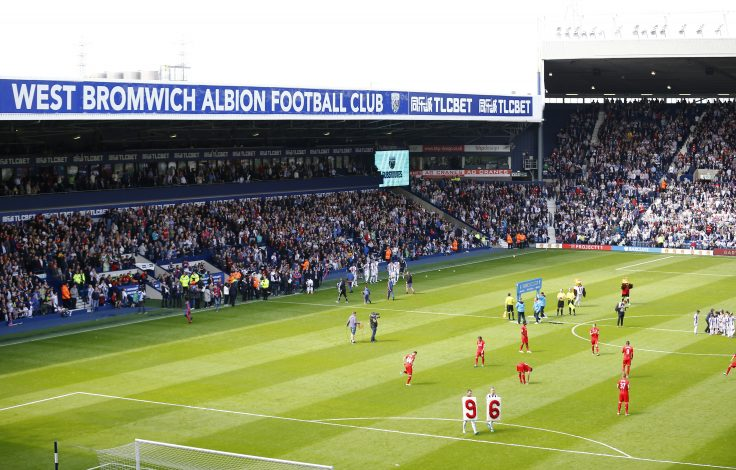The Hawthrons, football stadium of West Bromwich.