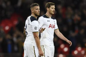 Toby Alderweireld and Jan Vertonghen after the game.