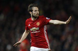Manchester United's Daley Blind.