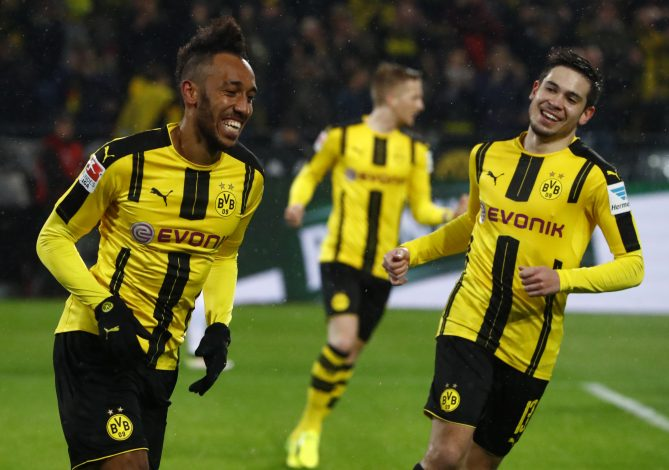 Borussia Dortmund's Pierre-Emerick Aubameyang.