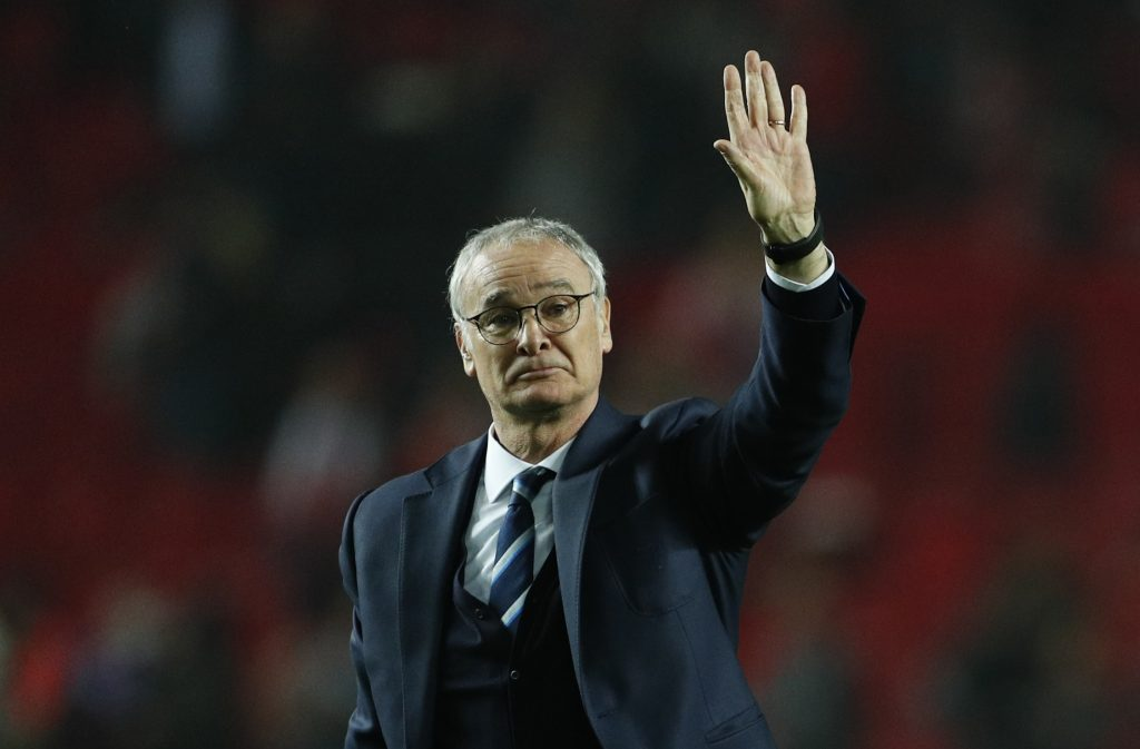 Leicester City manager Claudio Ranieri after the match.