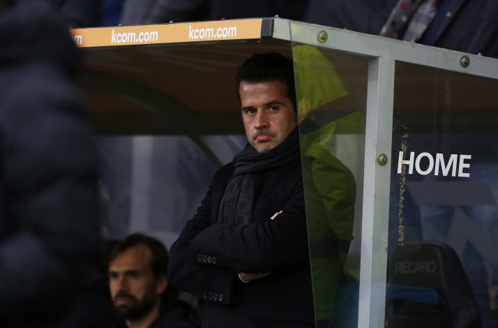 Hull City manager Marco Silva.