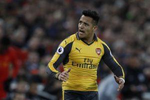 Arsenal's Alexis Sanchez.