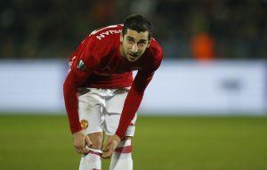 Manchester United's Henrikh Mkhitaryan.