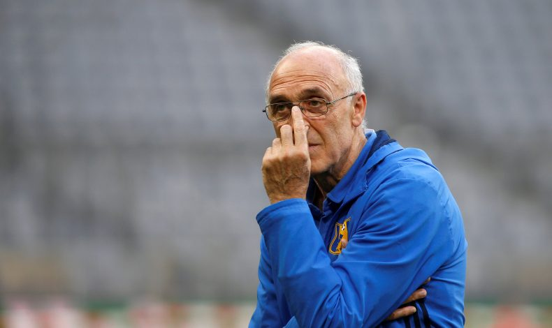Rostov's coach Ivan Daniliants.