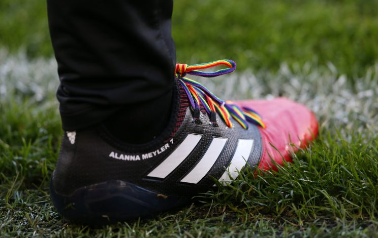 The boots of Hull's David Meyler.