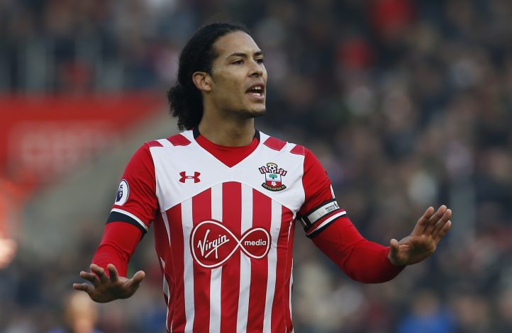 Southampton's Virgil van Dijk.