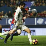 """Real Madrid's Francisco """"Isco"""" Alarcon scores a goal."""