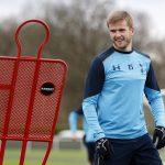 Tottenham's Eric Dier during training.