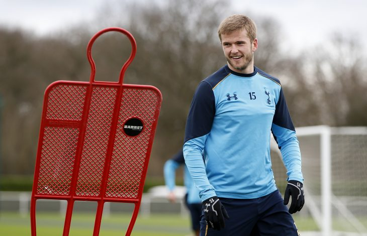 Tottenham's Eric Dier during training.