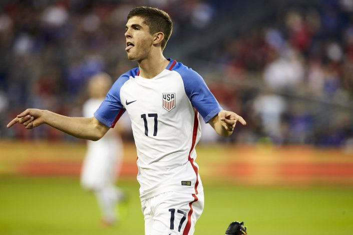 US Men's National Team midfielder Christian Pulisic.