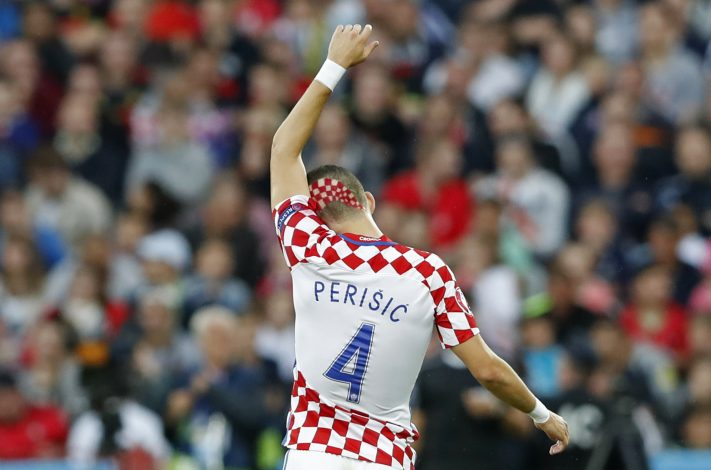 Croatia's Ivan Perisic.