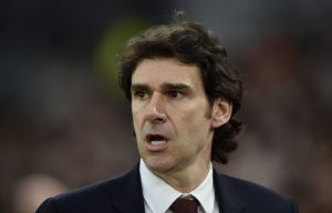 Middlesbrough manager Aitor Karanka.