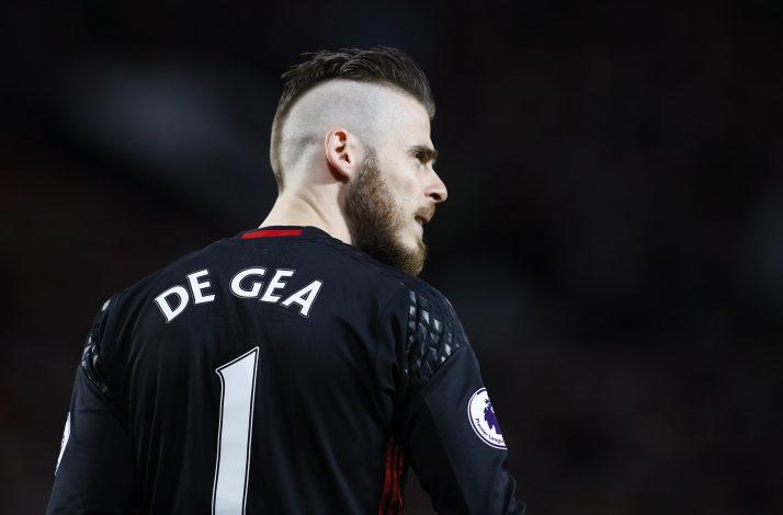 Manchester United's David De Gea.