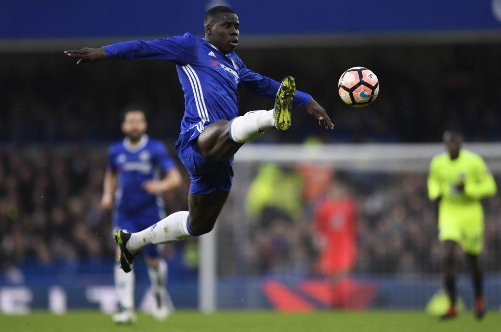 Chelsea's Kurt Zouma in action.