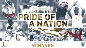 England U-20 World Cup Winners