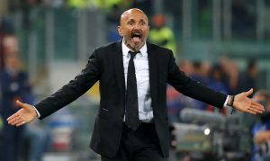 Roma coach Luciano Spalletti.