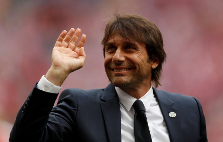 Chelsea manager Antonio Conte before the match.