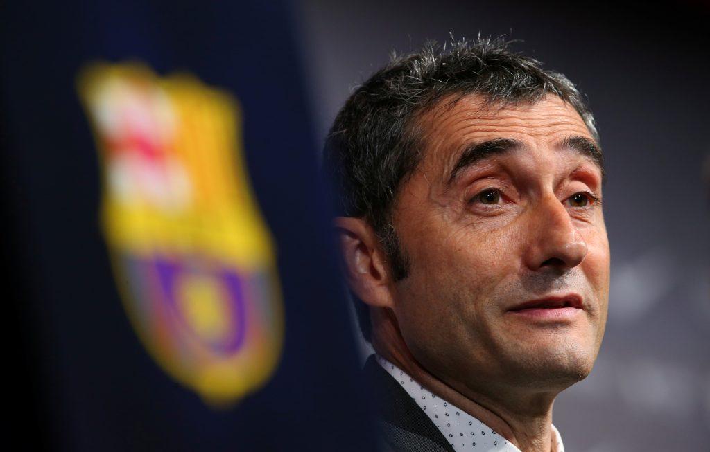 FC Barcelona's new coach Ernesto Valverde.