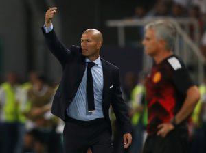Jose Mourinho and Zinedine Zidane.