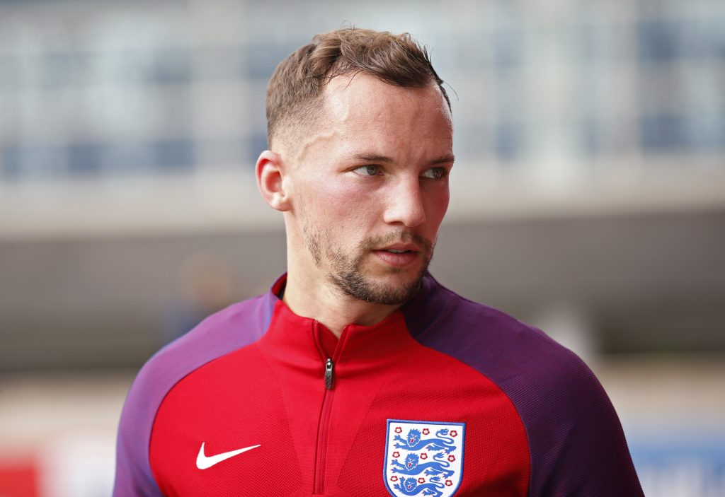 England's Danny Drinkwater during training.
