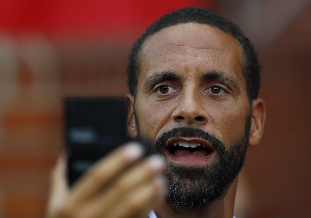 Former Manchester United player Rio Ferdinand.