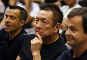 Valencia owner Peter Lim.
