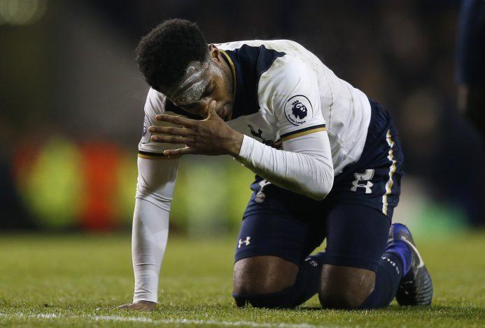 Tottenham's Danny Rose.