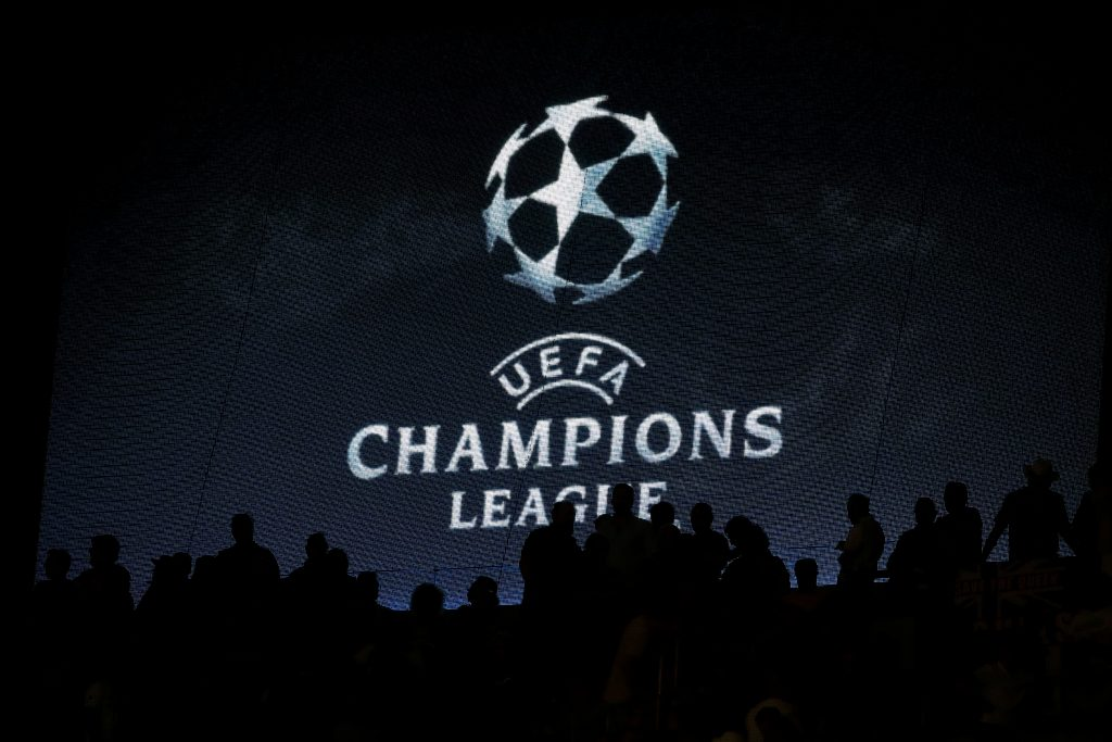 Champions League general view.