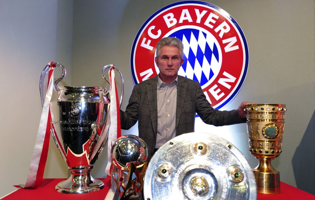 Treble-winning Bayern Munich coach Jupp Heynckes.