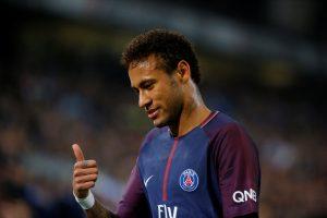 Paris Saint-Germain's Neymar.