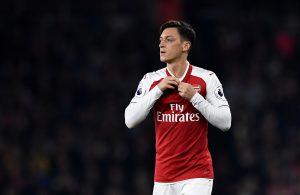 Arsenal's Mesut Ozil.