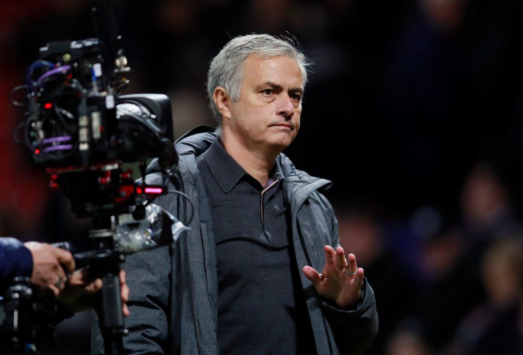 Jose Mourinho after the match.