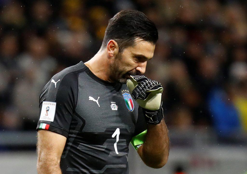 Italy's Gianluigi Buffon.