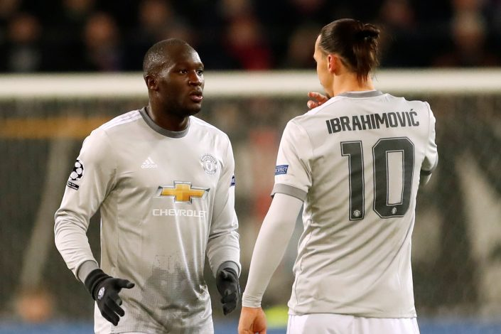 Zlatan Ibrahimovic and Romelu Lukaku.