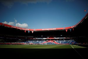 General view before the match.