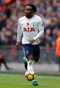 Tottenham's Danny Rose in action.